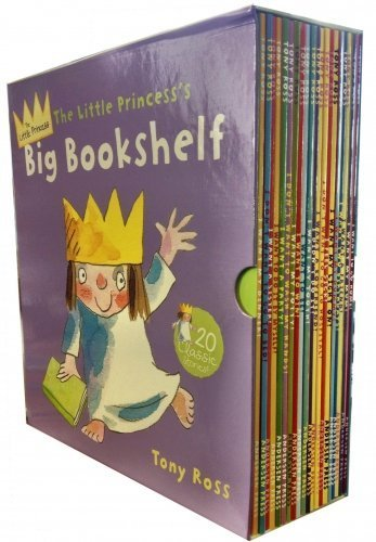 Little Princess Big Bookshelf Collection Tony Ross 20 Children Books Set (I Want a Party, My Dinner, Two Birthdays, My Light On, Do It by Myself, A Sister, Go Home, To Win, My Dummy, My Potty, I Want to Be, My Tooth, I Feel Sick, I Want a Friend, My Mum, I Didn't Do It, I Want a Boyfriend, I Dont Want to Go to Hospital,I Don't Want to Go to Bed, To Wash My Hands)