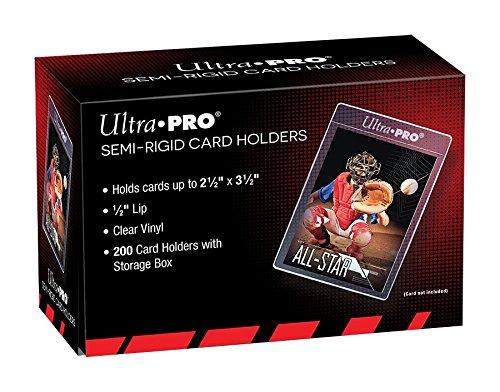 Ultra Pro Semi Rigid Kartenhalter (200 Stück)