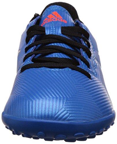 adidas Messi 16.4 Tf, Scarpe da Calcio Bambino Blu (shock Blue/matte Silver/core Black)
