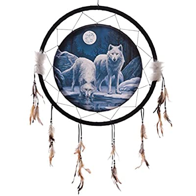 Decorative Wolf Warriors Of Winter 60cm Dreamcatcher Dreamcatchers Are A Great Way To Add Colour