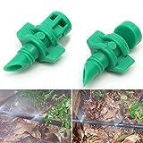 50Wasser Sprinkler–180Grad Micro Garten Rasen Wasser Spray Zerstäuberfunktion Düse Sprinkler Bewässerungssystem