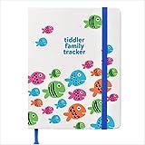 Tiddler, agenda per famiglia, lussuoso diario settimanale famigliare e per la casa, dimensioni compatte, formato B6, con spazio per 6 persone, impaginazione intelligente con funzioni utili B6 Fish