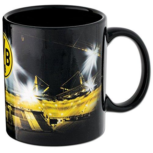 Borussia Dortmund Tasse / Kaffeetasse / Kaffeepott / Mug / Becher - Metallic Stadionprint BVB 09 -...