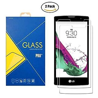 [2 Pack] Panzerglas Schutzfolie LG G4 Stylus H635 / H6350 / 635 / 6350 - Gehärtetem Glas Schutzfolie Displayschutzfolie für LG G4 Stylus H635 / H6350 / 635 / 6350