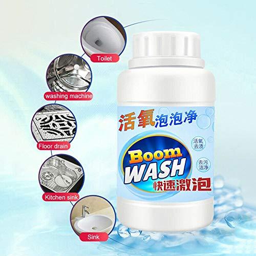Reaktiver sauerstoffschneller Schaumreiniger für die Toilettenreinigung ZDLF Maschinenwaschbecken Fliesenboden Mehrzweckwaschmittel (Deodorant Sauerstoff)