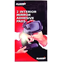 Summit SP-2 Interior Mirror Rear View Adhesive Pads Pack Of 2 Double Sided