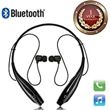 Elevea HBS 730 Wireless Bluetooth Mobile Phone Headphone Earpod Sport Earphone With Calling Functions Compatible With All Android And IOS Devices-Assorted Colour(1 Year Warranty)
