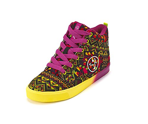 Zumba Footwear Women's Kingston Vibes Zumba Street Fresh Fitness Shoes, Pink (Shocking Pink), 5 UK