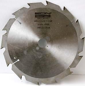 EDN HW- Hartmetall - Kreissägeblatt für Peugeot, Kress und weiterer