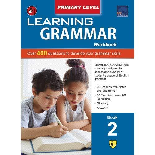 SAP Learning Grammar Primary Level Workbook 2 [Paperback] NONE par SHREE BOOK CENTRE