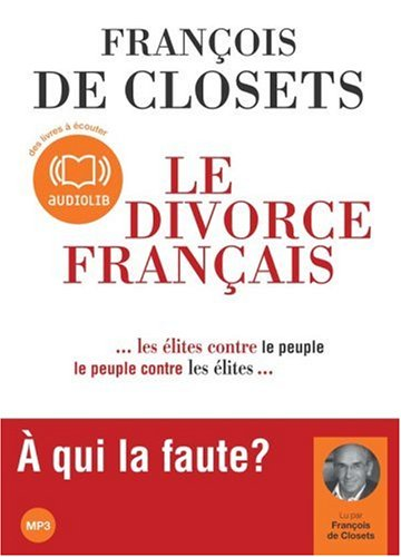 Le divorce français - Audio livre 1 CD MP3 500 Mo