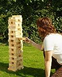 Traditional Garden Games Garden Tumbling Tower