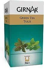 Girnar Green Tea, Tulsi, 36 Tea Bags