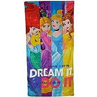 Disney - Toalla de baño, diseño con princesas ...