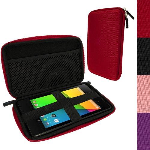 t Reise Tasche Schale Case Gehäuse Hülle für Neue Google Nexus 7 FHD Android Tablet 16GB 32GB 4G LTE Modell 2013 2. Gen Generation (Veröffentlicht August 2013) (Nexus 7 2012-ladegerät)