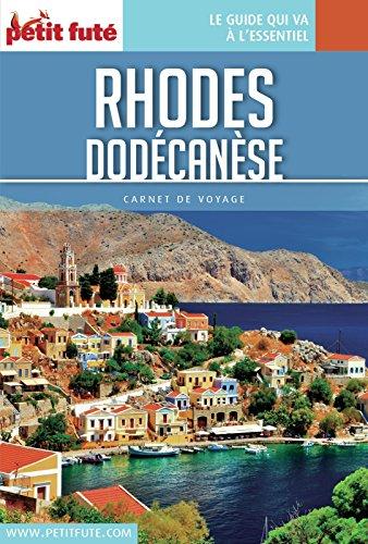 Couverture du livre Rhodes - Dodécanèse 2016 Carnet Petit Futé