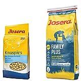 Josera 15 kg FamilyPlus + 1,5 kg Knuspies