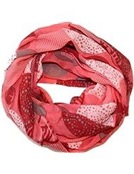 Prinidor Schal Tuch Silk&Cotton Scraf Kreise Muster