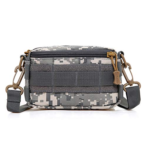 GJFeng bag Bolsos Al Aire Libre De Los Hombres Bolsa De Camuflaje Mini Bolso De La Cintura Bolso De Mano para Hombres Bolsa De Hombro 16 * 5.5 * 10cm (Color : B, Tamaño : 16 * 5.5 * 10cm)