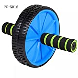 #9: ZZ ZONEX BRAND TOTAL BODY FITNESS WORKOUT - Ab Roller Ab Wheel Abdominal Workout Roller For Ab Exercises. CUSHIONED HANDLES. UNISEX WITH FREE MAT