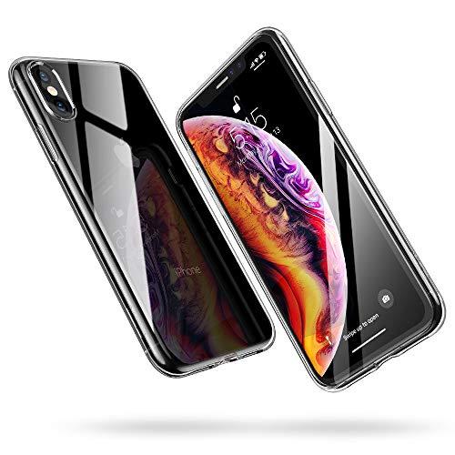 Esr cover iphone xs, cover iphone x, custodia gel trasparente morbida silicone sottile tpu [ultra leggera e chiaro] per apple iphone xs/x da 5.8 pollici.