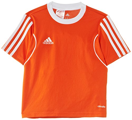 adidas Jungen Trikot Squadra13 1/4 Arm Orange/White 164