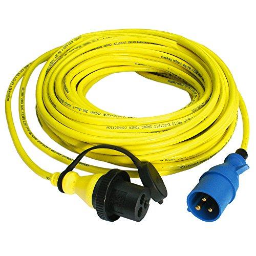 Victron Land-Strom Kabel 15m 16A H07BQ-F 3x2,5mm² - Marine-kabel