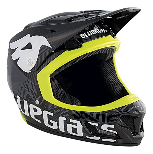 Bluegrass Brave Helm, Black/Yellow, 52-54 cm