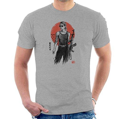 Cloud City 7 Terminator Sarah Connor Men's T-Shirt