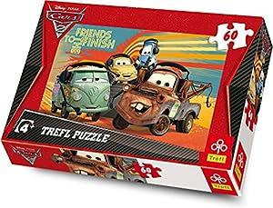TREFL 5900511171907 Puzzle Puzzle - Rompecabezas (Puzzle Rompecabezas, Dibujos, Niños, Cars, Niño/niña, 4 año(s))