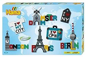 Hama 3038-Super Ciudades Paquete de Regalo, Cuentas