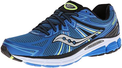 Saucony Running PowerGrid Omni 13, Herren Laufschuhe, Blau - Blau/Schwarz - Größe: 41 - Herren Größe Saucony 13