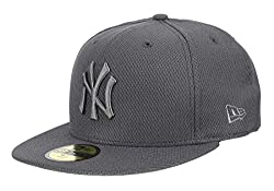 New Era Diamond Era 59Fifty Cap NY Yankees Dunkelgrau, Size:7 3/8