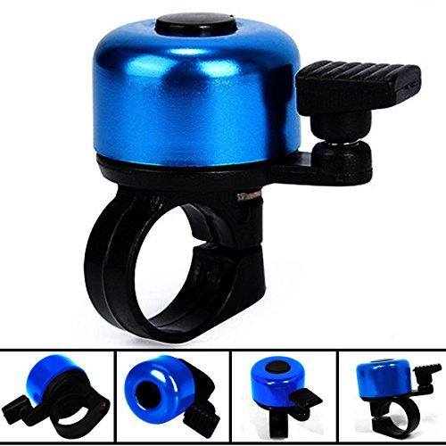WOLTU Fahrrad Klingel Glocke Scooter Mini Glocke Alu Bell Ring Blau FZ1717bl