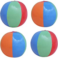 NUOLUX Aufblasbare Strandbälle Sommer Strand Party Schwimmbad Ball Spielzeug (12 Pack)