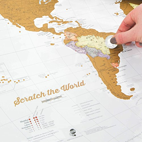 Scratch the world map of the world travel poster widest scratch the world map print scratch off places you travel gumiabroncs Choice Image