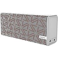 DOSS Haut-parleurs Bluetooth sans fil, Enciente Portable Bluetooth 4.0 avec son Stéréo 12W et Graves Améliorées, 12 heures de Jeu et Mains Libres pour Les Appareils Android iOS [Camouflage Blanc ] - SoundBox Couleur