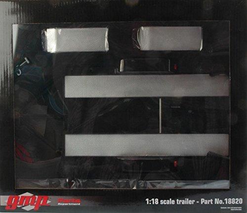 GMP GMP18820 CARRELLO TRAILER W/TIRE RACK 1:18 MODELLINO DIE CAST MODEL