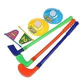 OFKPO Mini Golf Toy Golf Set Kids Golf Toy Kids Portable Mini Plastic