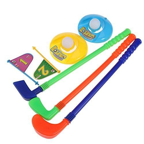 OFKPO Ensemble de Golf Jouet pour Enfants, Mini Golf en...