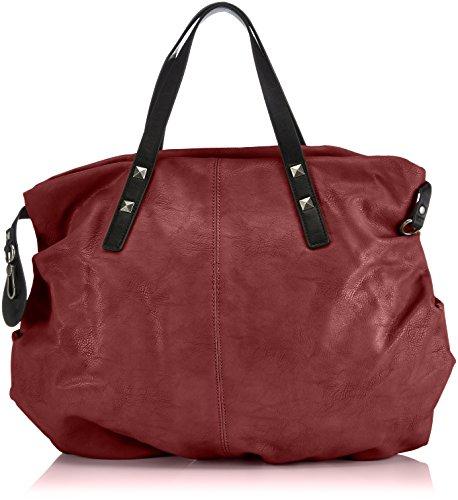 Tamaris BROOKE Handbag 1100142-549 Damen Henkeltaschen 48x52x16 cm (B x H x T) Rot (bordeaux 549)