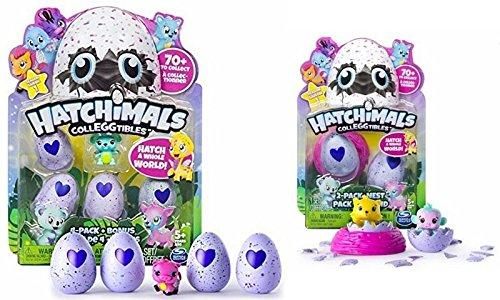 Hatchimals à Collectionner - Pack de 5+2 Figurines + 1 Nid 0719363564127