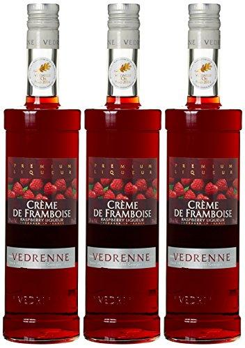Vedrenne Crème de Framboise Himbeerlikör (3 x 0.7 l)