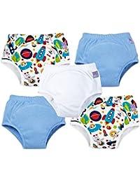 Bambino Mio Miosoft pantalones de entrenamiento para niños, 18–24meses de edad. 5unidades