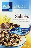 Kölln Schoko Müsli 30% Weniger Zucker, 6er Pack (6 x 600 g)
