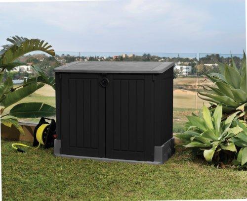 Mülltonnenbox von Keter Store it Out Midi, Schwarz, 845L - 4