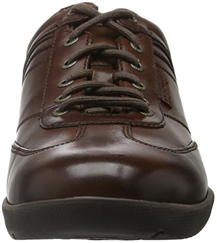 Rockport Herren Ip T-Toe Derby Braun (Dk Brown)