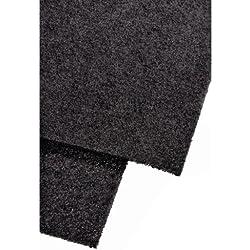 HAMA Filtro ai carboni attivi per cappe da cucina, 2 pezzi