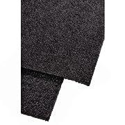Hama 00110832. Colore del prodotto: Nero, Materiali: Carbonio. Larghezza: 470 mm, Altezza: 570 mm Dimensioni e peso -Larghezza: 470 mm -Altezza: 570 mm Design -Colore del prodotto: Nero -Materiali: Carbonio
