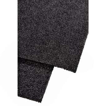 Xavax 2er Set Universal Dunstabzug-Aktivkohlefilter, Individueller Zuschnitt, 47 x 57 cm